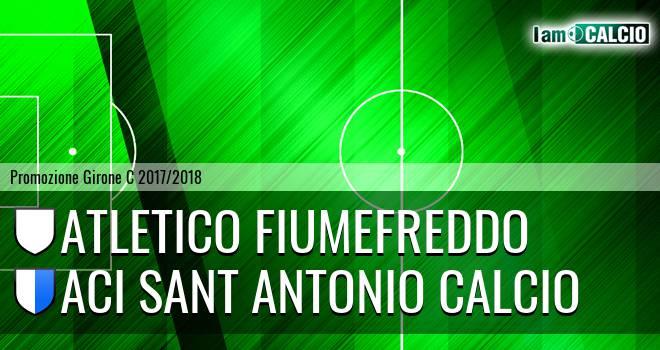 Atletico Fiumefreddo - Aci Sant' Antonio Calcio