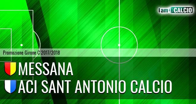 Villafranca Messana 1966 - Aci Sant' Antonio Calcio