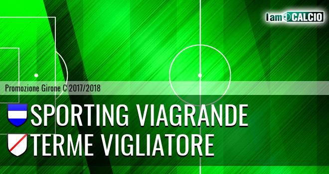 Sporting Viagrande - Terme Vigliatore