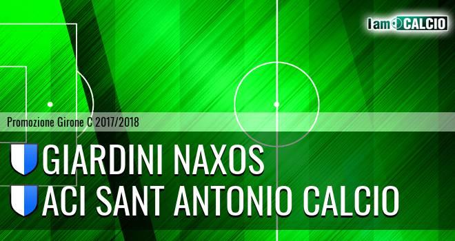 Giardini Naxos - Aci Sant' Antonio Calcio