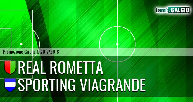 Real Rometta - Sporting Viagrande