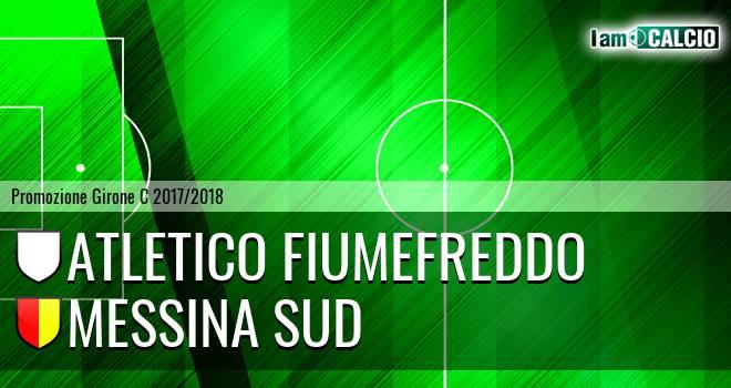 Atletico Fiumefreddo - Messina Sud