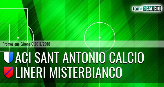 Aci Sant' Antonio Calcio - Lineri Misterbianco