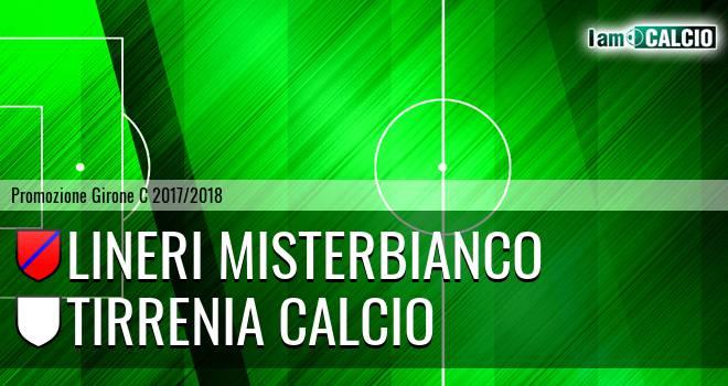 Lineri Misterbianco - Tirrenia Calcio