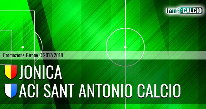 Jonica - Aci Sant' Antonio Calcio