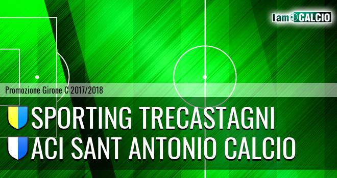 Sporting Pedara - Aci Sant' Antonio Calcio