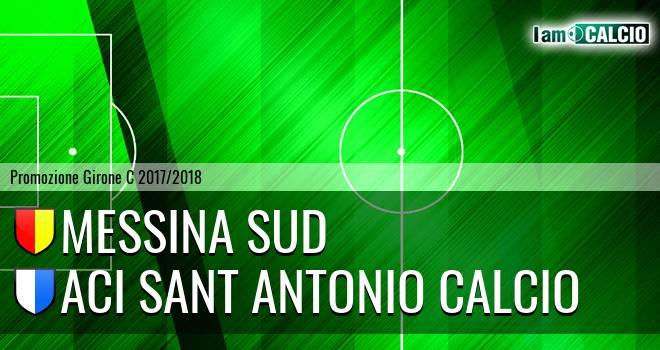 Messina Sud - Aci Sant' Antonio Calcio