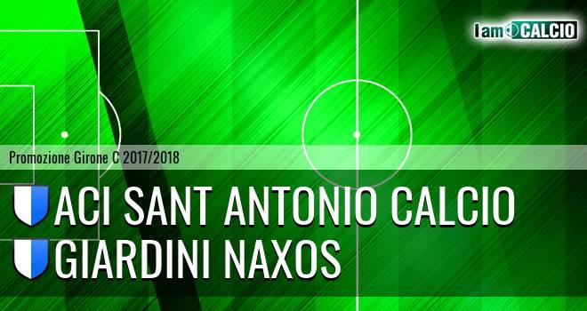 Aci Sant' Antonio Calcio - Giardini Naxos