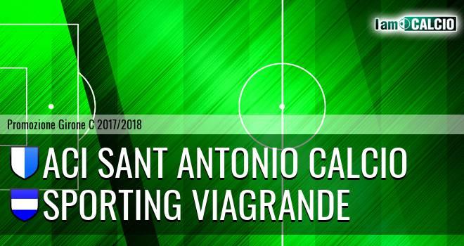 Aci Sant' Antonio Calcio - Sporting Viagrande