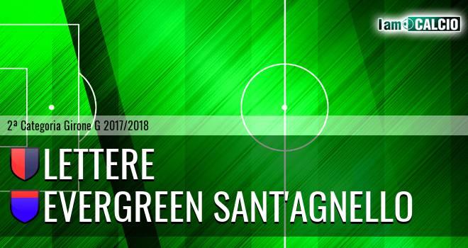 Lettere - Evergreen Sant'Agnello