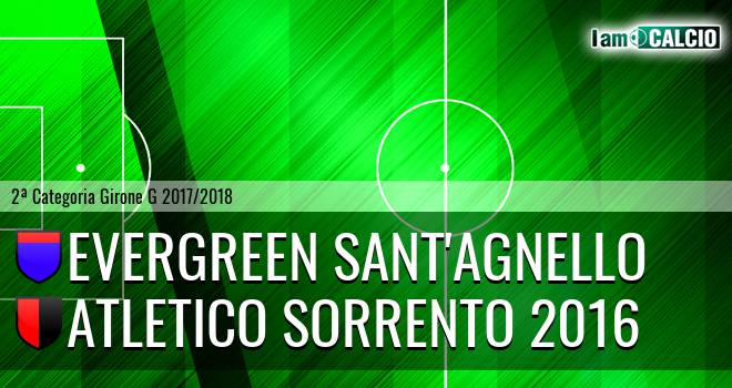 Evergreen Sant'Agnello - Atletico Sorrento 2016