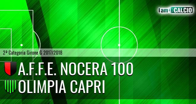A.F.F.E. Nocera 100 - Olimpia Capri