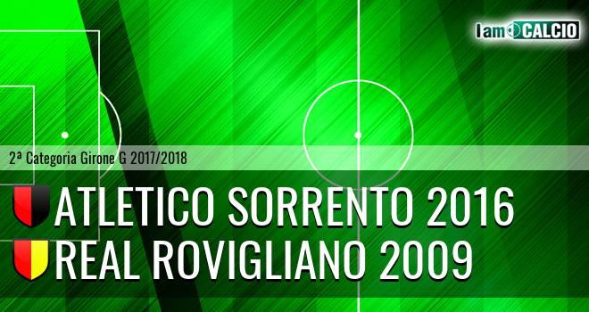 Atletico Sorrento 2016 - Real Rovigliano 2009