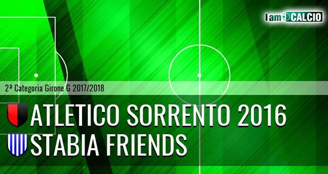 Atletico Sorrento 2016 - Stabia friends