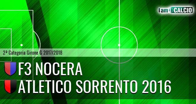 F3 Nocera - Atletico Sorrento 2016