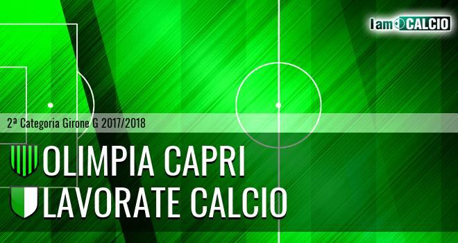 Olimpia Capri - Lavorate Calcio