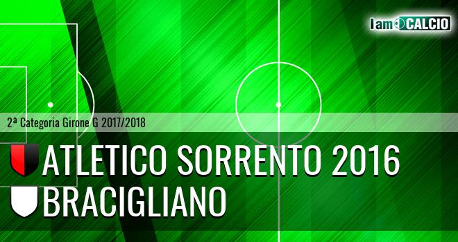 Atletico Sorrento 2016 - Bracigliano