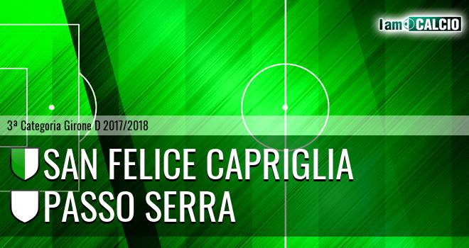 San Felice Capriglia - Passo Serra