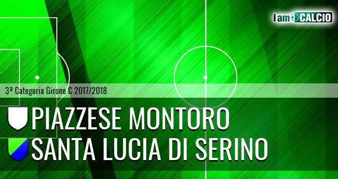 Piazzese Montoro - Santa Lucia di Serino