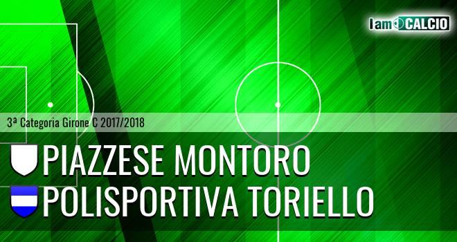 Piazzese Montoro - Polisportiva Toriello