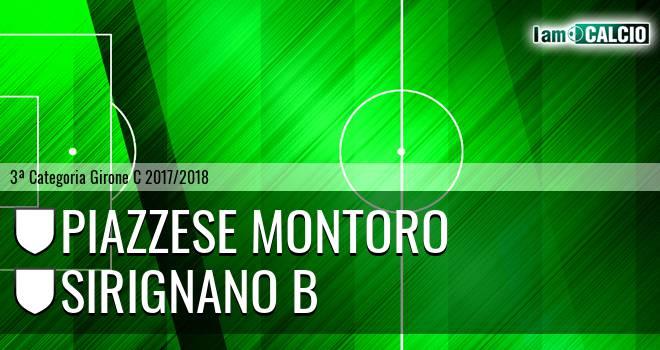 Piazzese Montoro - Sirignano B