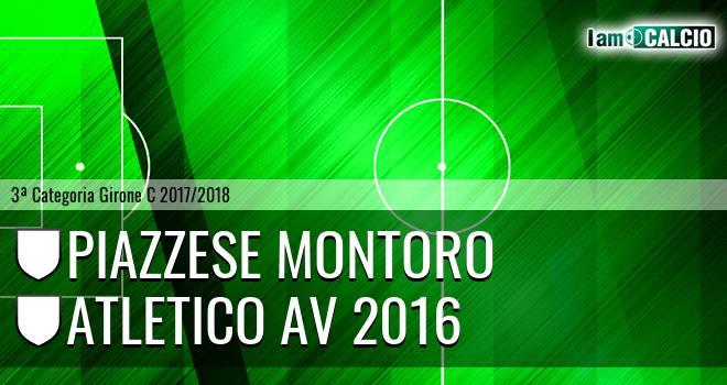 Piazzese Montoro - Atletico AV 2016