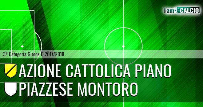 Azione Cattolica Piano - Piazzese Montoro