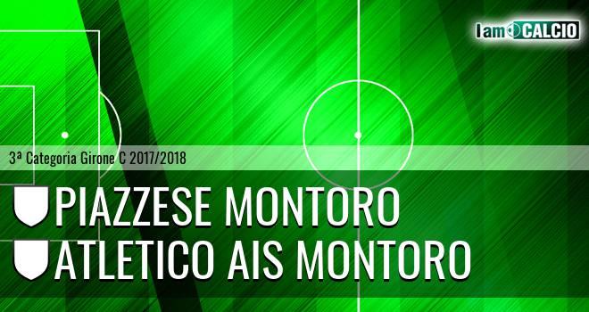 Piazzese Montoro - Atletico Ais Montoro
