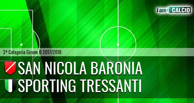 San Nicola Baronia - Sporting Tressanti