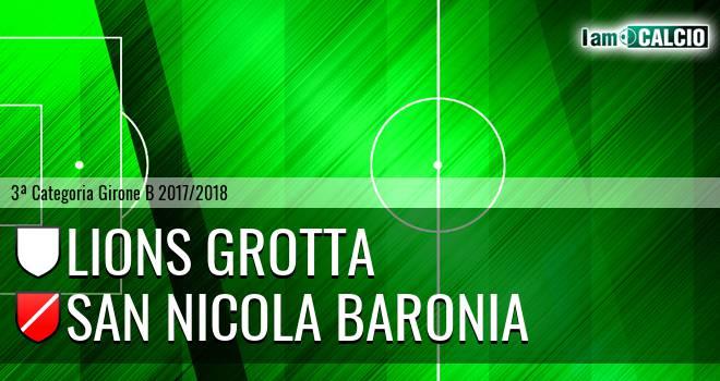 Lions Grotta - San Nicola Baronia