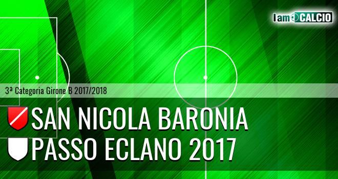 San Nicola Baronia - Passo Eclano 2017