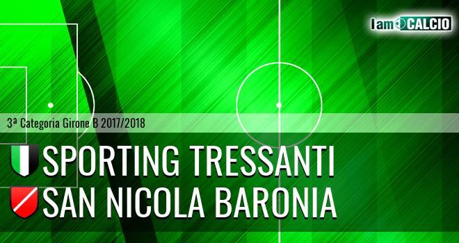 Sporting Tressanti - San Nicola Baronia