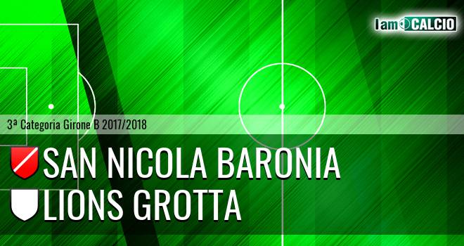 San Nicola Baronia - Lions Grotta