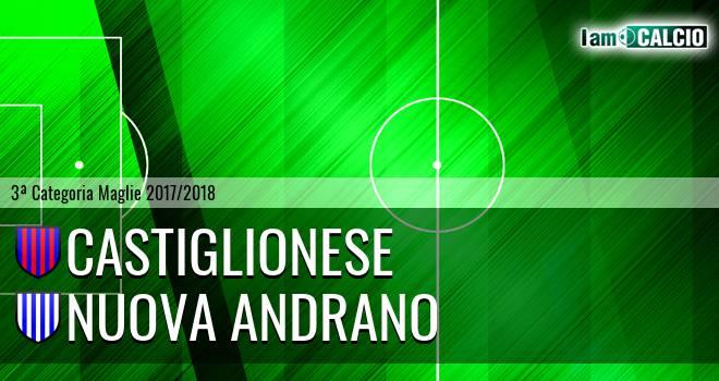 Castiglionese - Nuova Andrano