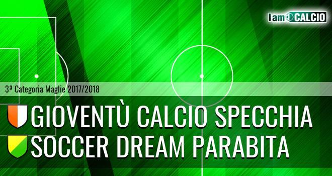 Gioventù Calcio Specchia - Soccer Dream Parabita