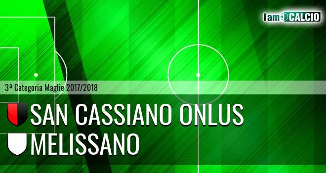 San Cassiano Onlus - Melissano