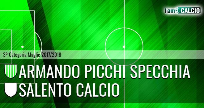 Armando Picchi Specchia - Salento Calcio