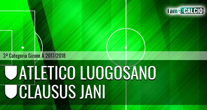 Atletico Luogosano - Clausus Jani