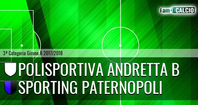 Polisportiva Andretta B - Sporting Paternopoli