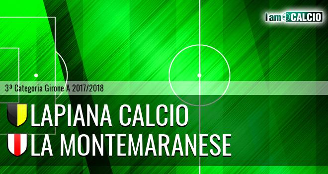 Lapiana Calcio - La Montemaranese