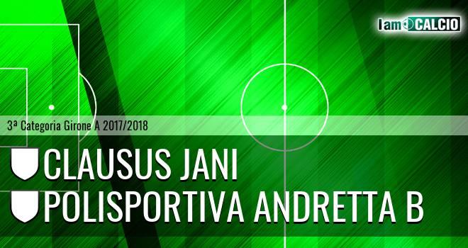 Clausus Jani - Polisportiva Andretta B