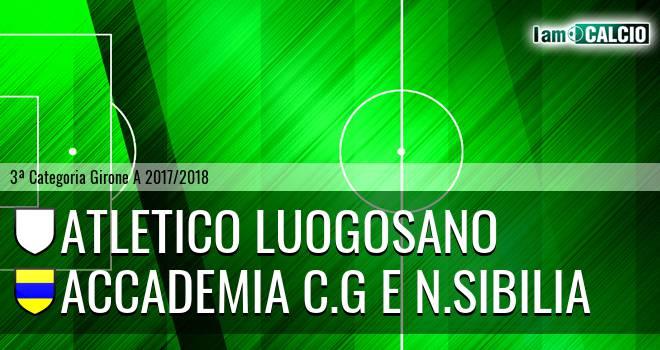Atletico Luogosano - Accademia C.G e N.Sibilia