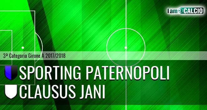 Sporting Paternopoli - Clausus Jani