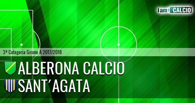 Alberona Calcio - Sant'Agata