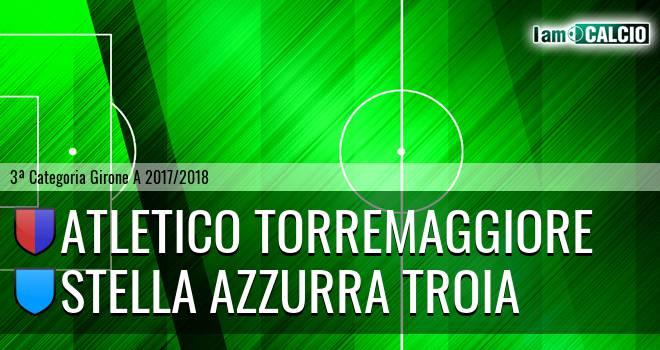 Atletico Torremaggiore - Stella Azzurra Troia