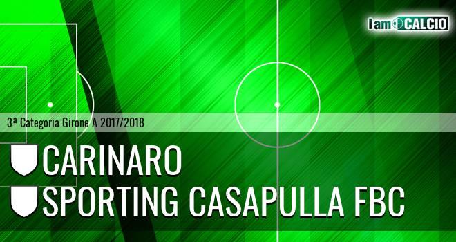 Carinaro - Sporting Casapulla FBC