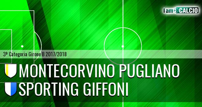 Montecorvino Pugliano - Sporting Giffoni