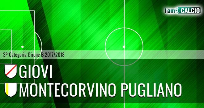 Giovi Calcio Rufoli - Montecorvino Pugliano