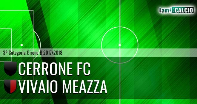 Cerrone Fc - Vivaio Meazza