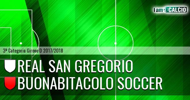Real San Gregorio - Buonabitacolo Soccer